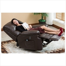 Ergonomic Deluxe Massage Recliner Sofa Chair Lounge Executive Heated