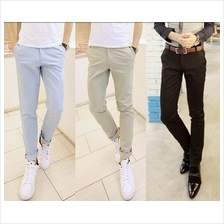 Men Korean Casual Fashion Slim Fit Pants (4 Color) MT006494