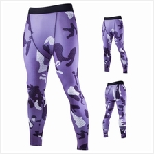 Men Ultra-thin Breathable Camouflage Fitness Sport Tight Pants Sold Ou..