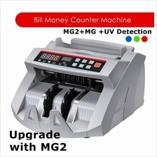 Money Counter Cash Counter Machine with MG1 + MG 2 + UV