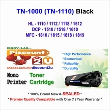 Brother TN1000 1110 HL1100 1110 Toner Compatible * NEW SEALED *