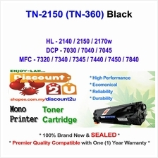 Brother TN2150 TN360 HL2150 2140 Toner Compatible * NEW SEALED *