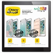 ★ OtterBox iPHONE 8 / 7 SYMMETRY CLEAR GRAPHICS CASE