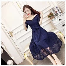 ELFBOUTIQUE 9018 PREMIUM Lacy Dinner Maxi Dress Evening Gown FREE SHIPPING (2