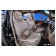 Cooling Ice Silk Car Seat Cover - Front and Back Full Set