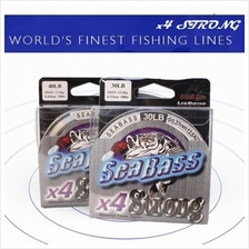 Sea Bass X4 Super Strong 100Meter Nylon Fishing Line