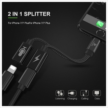 iPhone 7 IPhone X Dual Function Charge and Headphone Adapter