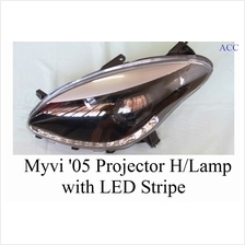 HEAD LAMP - MYVI ''05 PROJECTOR WITH LED