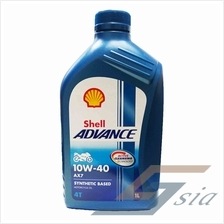 Shell Advance AX7 10W-40 Engine Oil (1 litre)