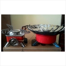 Portable Card Type Gas Butane Camping Stove