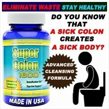 Super Colon Cleanse 1800 Detox Weight Loss Diet Slimming Pills
