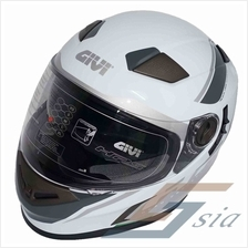 GIVI M50.2 TURISMO GRAPHIC TOURING HELMET (WHITE)