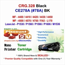 CANON CRG 328 MF4570 4750 CE278A Toner Compatible * NEW SEALED *