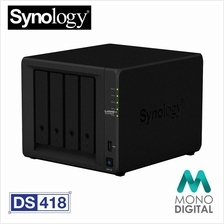 Synology DS418 (DS-418) NAS DiskStation 4-Bays