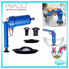 PRADO High Pressure Air Drain Toilet Sink Clog Remover Blaster Pump