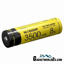 Nitecore 18650 3500mAh Li-ion Rechargeable Battery NL1835HP