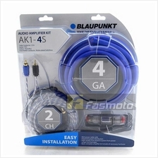 BLAUPUNKT AK1-4S 2 Channel 4 Gauge Car Audio Amplifier Kit