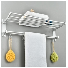 OSUKI Quality Aluminium Towel Hanging Rack Bathroom Kitchen Accessorie