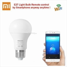 Xiaomi Philip E27 Smart LED Bulb WIFI Smartphone Remote Control