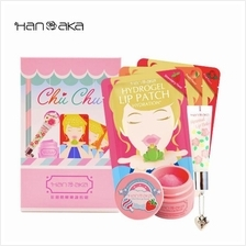 Hanaka Chu Chu Lip Care Limited Set - Lip Scrubs Lip Balm  & Lip Masks