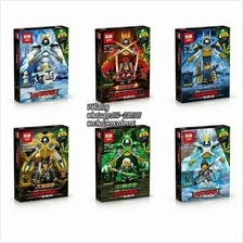 Brick Compatible 03048 NinjaGo Movie Series 6Design@set
