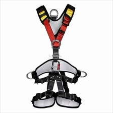 Full Body Safety Rock Mountain Climbing Rappelling Harness Belt Strap