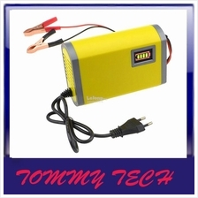 12V 6A DC car battery charger, motorbike,Lead acid or gel batteries