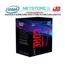 Intel Core i7-8700K Coffee Lake 3.7 GHz (4.7 GHz Turbo) LGA1151