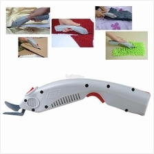 Portable Electric Scissors Cutting Tool Cloth Fabric Leather Cutter