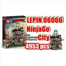 Brick Compatible 06066 Ninjago Movie City 2017