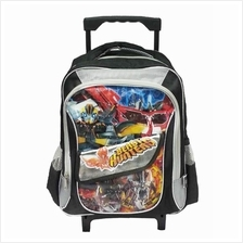 TRANSFORMERS BEAST HUNTERS PRE-SCHOOL TROLLEY BAG