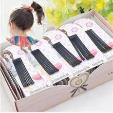 BB Black Simple Hairclip (in packet)