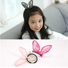 BB Lace Rabbit Ear Hair Clips