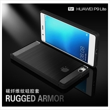 Huawei P8 P9 P10 Lite Nova 2 Plus Honor- Soft TPU Rugged Armor Case