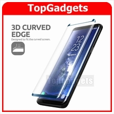 [CASE FRIENDLY]Samsung S8 S9 Plus Note 8 Full 3D Mini Tempered Glass