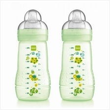 MAM Twin Baby Bottle 270ml with Teat Size 2 (B727)