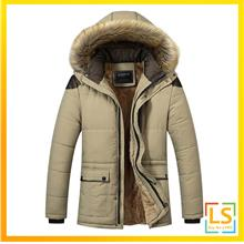 e439d3adfa9 Plus Size Men Hooded Winter Autumn Jacket Coat Size M to 5XL