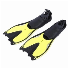 PAIRED DIVING FLIPPERS SNORKELING SHOES SWIMMING TRAINING EQUIPMENT (Y