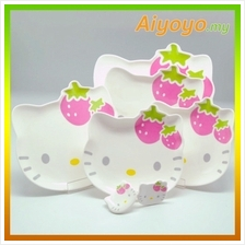 Hello Kitty Dinnerware Set Kt Cute Cartoon Saucer Dessert Dinner Plate