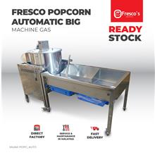 Pop Corn Machine Gas Commercial Big mesin popcorn gas