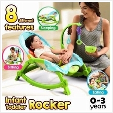 BABY THRONE New Born to Toddler Rocker