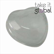50g Heart Shape Soap Casing - Thick Plastic