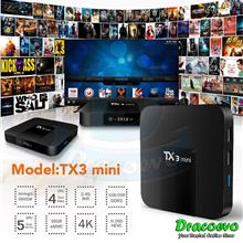 TX3 Mini TV Box S905W 2.4GHz WiFi Android 7.1 2G 16GB 4K Kodi 17.6