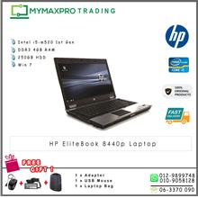 Refurbished HP Elitebook 8440p Laptop Core i5 2.4GHz 2GB DDR3 NoteBook)