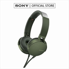 SONY MDR-XB550AP EXTRA BASS HEADPHONES GREEN (SONY MALAYSIA WARRANTY))