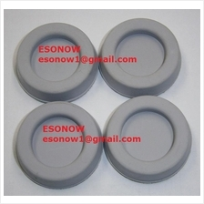 5pcs 32mm Diameter Self-Adhesive Rubber Feet for PC Cases, Grey Colour