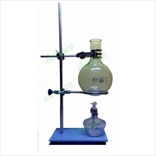 Round Bottom Flask Boiling Set with Alcohol Lamp / Lab Glassware