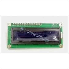 Liquid crystal display (LCD) with IIC module (1602, 16x2, white-blue)