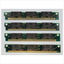 Samsung Korea Chips 30-pin 1MB SIMM RAM (KM41C1000CJ-7) Untested