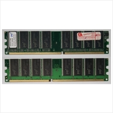 PQI 512MB DDR400 Desktop Memory, 16 Chips (Working Used Unit)